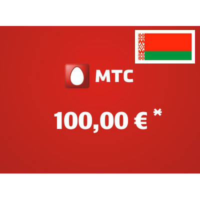 Recharge balance of MTS - Belarus SIM - Card with 100,00 EUR